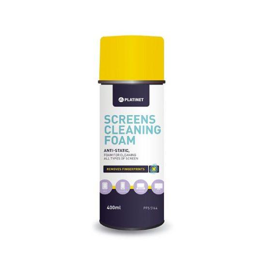 Omega FS5144 Αντιστατικός αφρός καθαρισμού LCD/TFT Οθονών 400ml