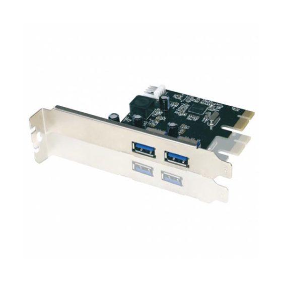 PCI Express Card USB3.0 APPPCI2P3V2 2port Approx