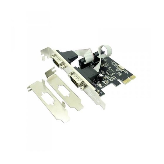 PCI Express Serial Card 2port Approx PCIE2S