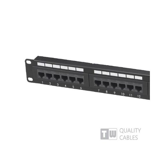 Patch Panel 12 Port Cat6