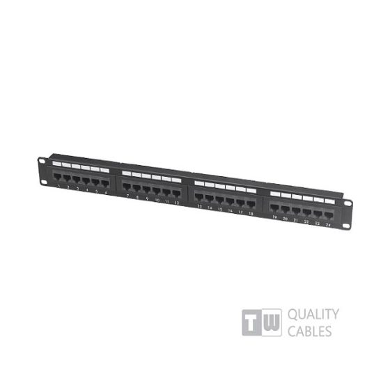 Patch Panel 24 Port Cat6