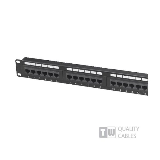 Patch Panel 48 Port Cat5e
