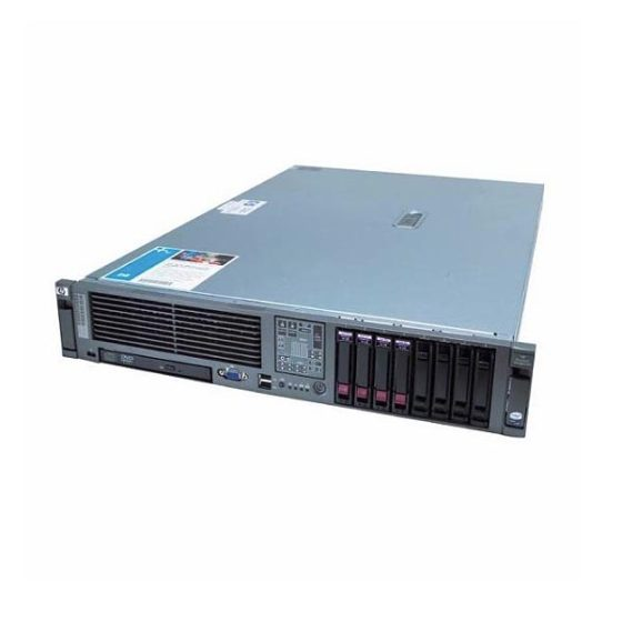 Refurbished Server HP DL380 G5 R2U 1x X5460/16GB/Various HDD/2xPSU/DVD