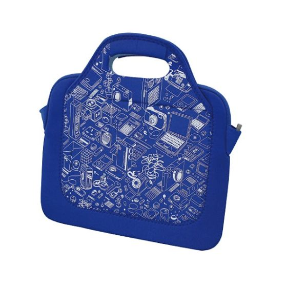 "ST-L0214 E-BOSS ΕΩΣ 11"" BLUE NETBOOK BAG"