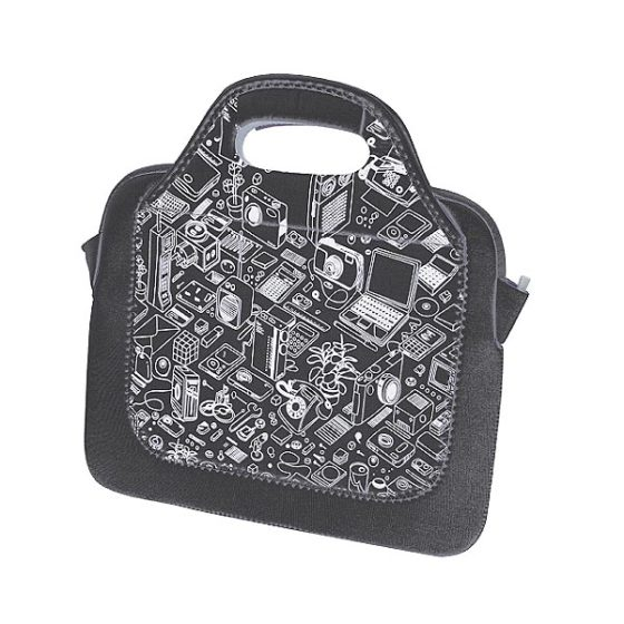 "ST-L0214 E-BOSS ΕΩΣ 11"" GREY NETBOOK BAG"