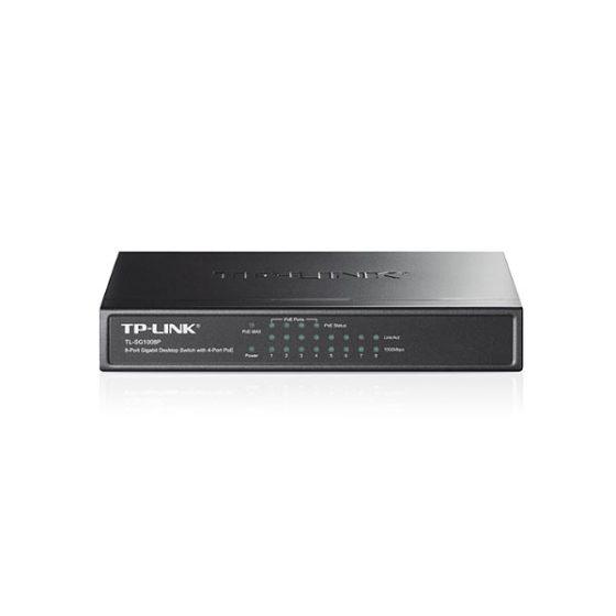 TP-LINK SG1008P 8 port Gigabit Desktop PoE Switch
