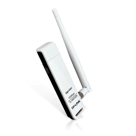 TP-LINK WN722N WIRELESS LITE N HIGH GAIN USB ADAPTER