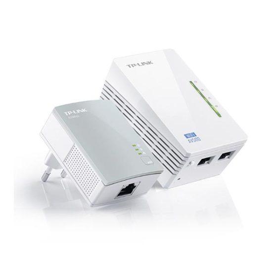 TP-LINK WPA4220KIT 300MBPS AV500 WiFi POWERLINE EXTENDER STARTER KIT