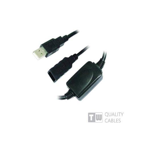 USB Προέκταση  Cable 15M Α/Μ -A/F  με ενίσχυση