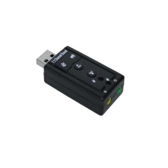 USB  Audio/Sound Adapter FS-U8SD1  With Button Keys
