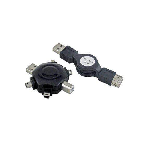 USB Tools Kt-701 Retractable Travel Cable Ritmo