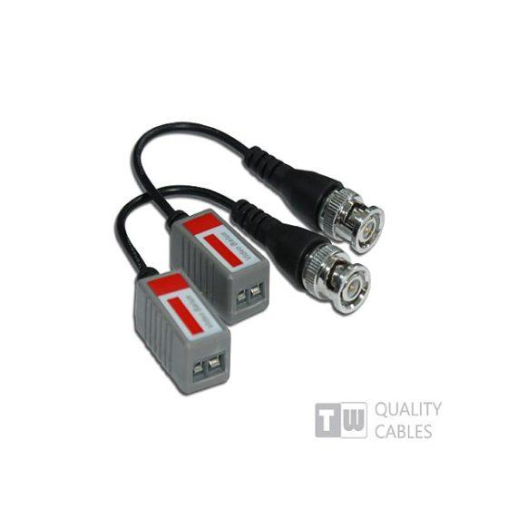 UT102BP 1ch Passive Video Transceiver Hum-Bar RejeCTive Video Balun Bnc Male 2tem