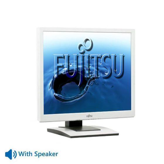 "Used Monitor B19-x TFT/Fujitsu/19""/1280x1024/White/With Speakers/VGA  & DVI-D"