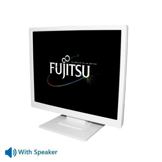 "Used Monitor E19-x TFT/Fujitsu/19""/1280x1024/White/NP/With Speakers/D-SUB&DVI-D"