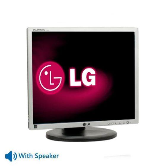 "Used Monitor E1910 TFT/LG/19""/1280x1024/Silver/Black/With Speaker/VGA & DVI-D"