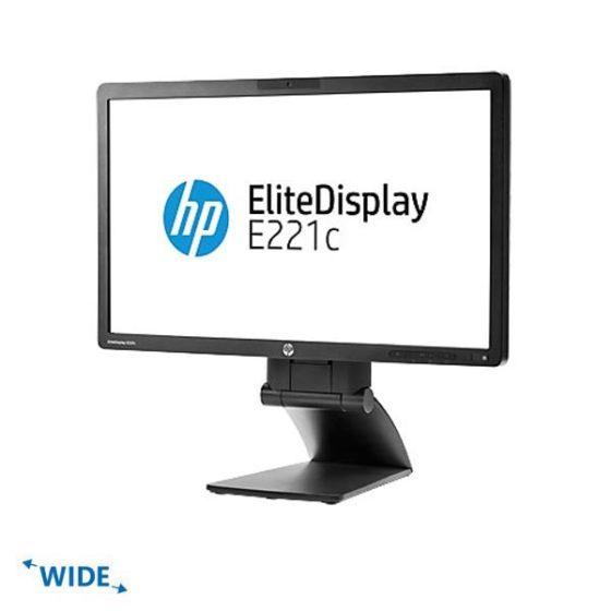 "Used Monitor E221c TFT/HP/22""/1920x1080/wide/Black/Grade B/VGA&DVI-D&USB Hub"