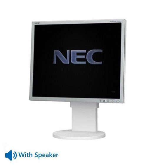 "Used Monitor EA192M TFT/NEC/19""/1280x1024/White/With Speakers/D-SUB & DVI-D & DisplayPort"