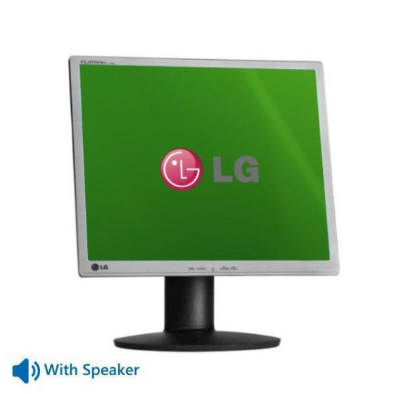 "Used Monitor Flatron L1942Px TFT/LG/19""/1280x1024/Silver/Black/With Speakers/VGA & DVI-D"