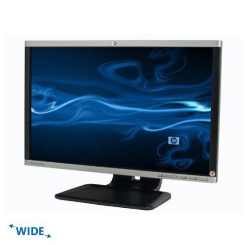 """Used Monitor LA2205w TFT/HP/22""""/1680x1050/wide/Silver/Black/VGA&DVI-D&DP&USB Hub"""