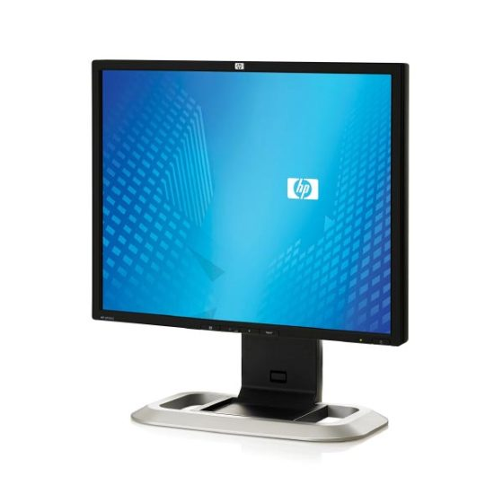 "Used Monitor LP1965 TFT/HP/19""/1280x1024/Silver/Black/2xDVI-I & USB HUB"