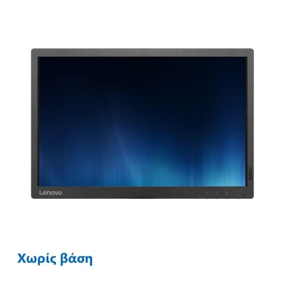 "Used Monitor Lenovo 22"" Black Χωρίς Βάση"