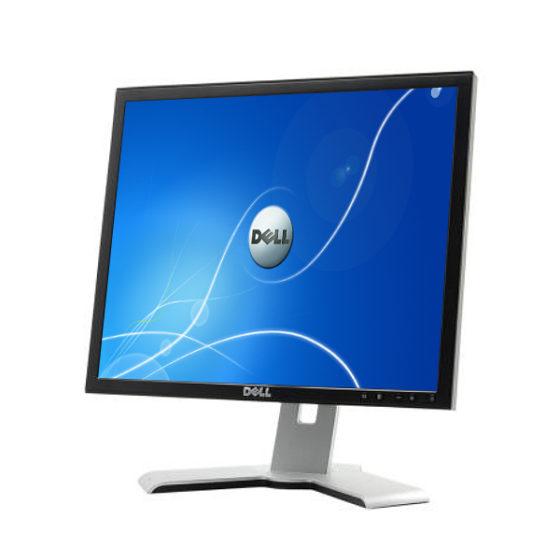 """Used Monitor P190Sx TFT/Dell/19""""/1280x1024/Silver/Black/D-SUB & DVI-D & USB HUB"""