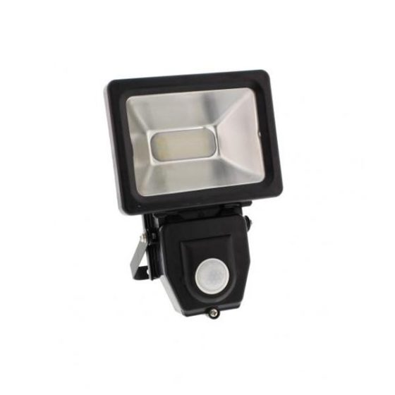 WELL Προβολέας LED 10W SMD με αισθητήρα
