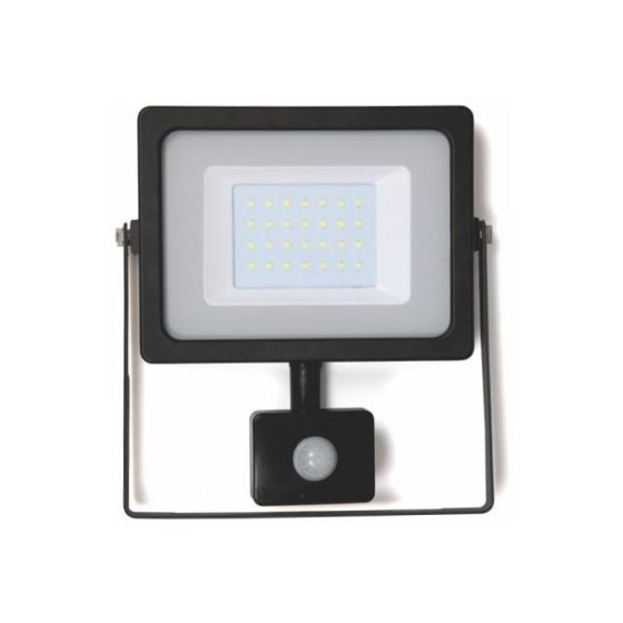 WELL Προβολέας LED 30W SMD με αισθητήρα
