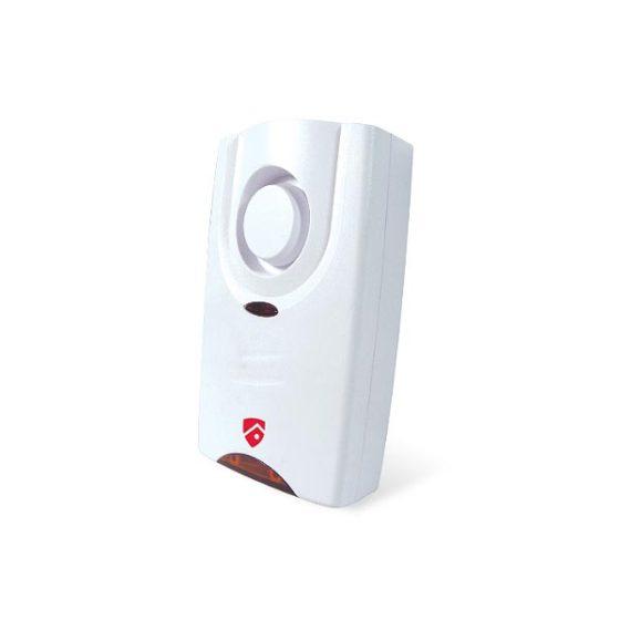 WS-113 Εσωτερική Σειρήνα 120db Red Shield