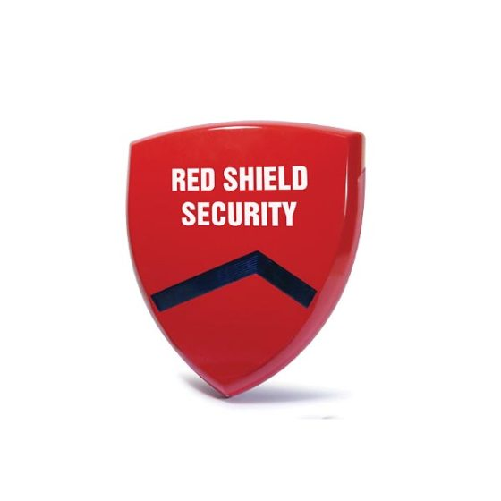 WS-209 Εξωτερική Σειρήνα 120dB Red Shield