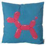 Decorative Cushion with Insert - Fun Balloon Animal Dog