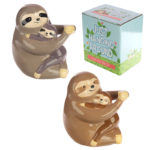Fun Collectable Sloth and Baby Money Box