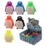 Fun Kids Light Up Squidgy Penguin Puff Pet