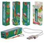 Handy Portable USB Power Bank - Sloth Design