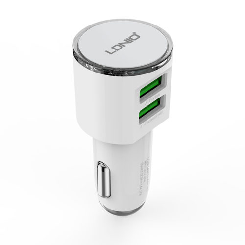 car charger ldnio dl-c29 dc12-24v 5v/3.4a