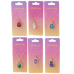 Collectable Gemstone  and  Mineral Pendant Necklace