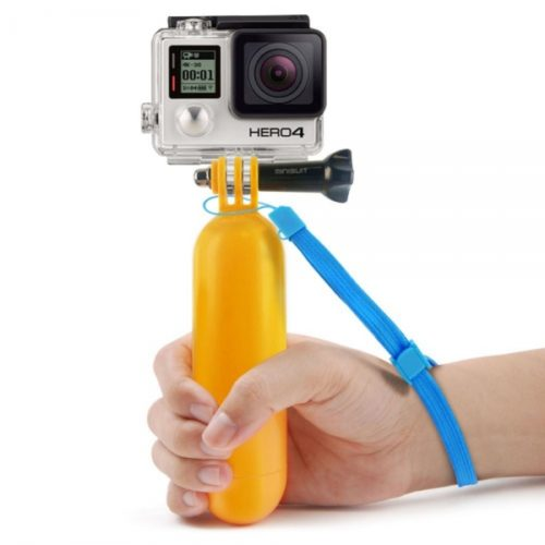 floating handle for action camera