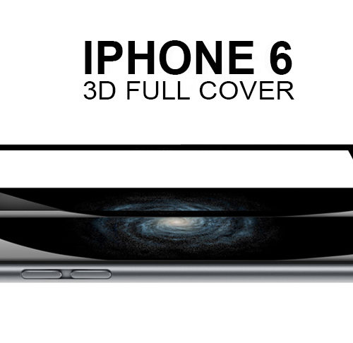 full screen glass protector for iphone black