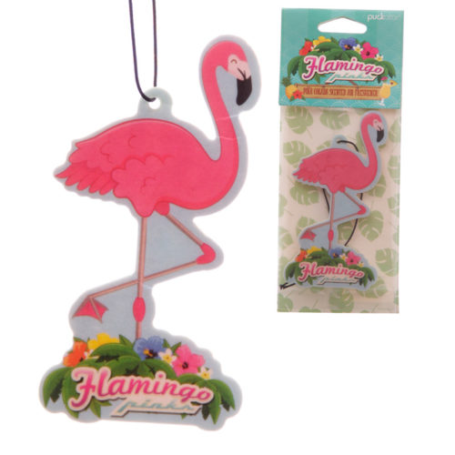 Funky Flamingo Design Air Freshener