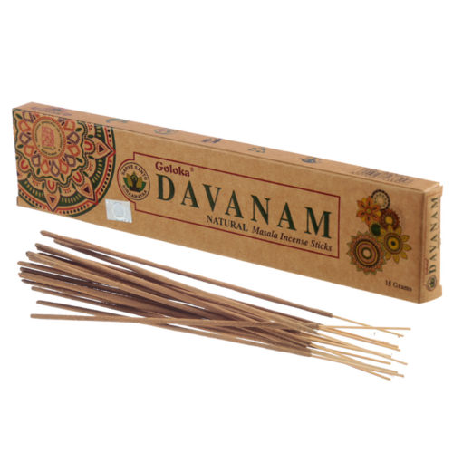 Goloka Incense Sticks - Davanam