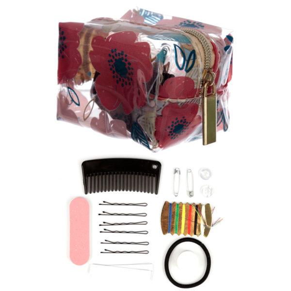 Handy Emergency Travel Kit - Poppy Fields