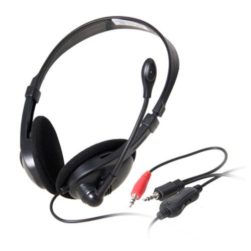headsets ovleng ov-l9008mv for computer with microphone