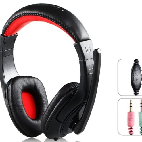 headsets ovleng x-12 for computer with microphone