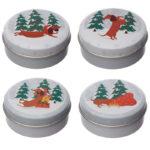 Lip Balm in a Tin - Christmas Dachshund Through The Snow