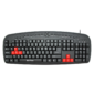 multimedia keyboard detech de6088
