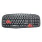 multimedia keyboard detech de6089