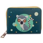 Small Zip Around Wallet - Lemur Mob
