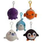 Squishy Cuddlies Cute Keyring - Sealife