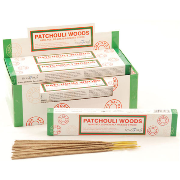 Stamford Masala Incense Sticks - Patchouli Woods