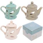 Teapot Design Ceramic Oil Burner